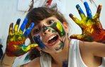 cocuk atolye etkinlik resim boyama mutlu cocuk