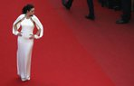 fahriye evcen cannes film festival guzellik stil makyaj kirmizi hali red carpet loreal paris