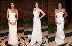 vanity fair beyaz elbise