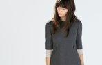 zara is elbisesi ofis calisma kiyafet moda
