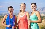 spor egzersiz mutlu kadinlar
