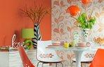 turuncu dekorasyon