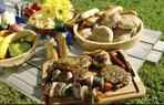 yiyecek yemek piknik et