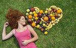 diyet yaz mutluluk meyve kadin ask