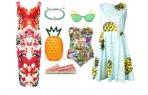 2015 yaz tropikal desen modasi