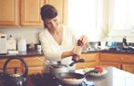 mutfak yemek saglik mutlu gulmek
