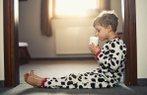 cocuk sut beslenme sabak kahvalti erkek pijama