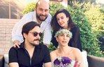 serap erener evlendi nikah dugun gelinlik