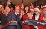 dmb bella hadid tag heuer flagship store launch london010