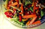 haslanmis sebze salatasi
