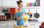 detoks beslenme portakal smoothie saglik kahvalti spor
