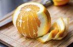 portakal kabugu meyve