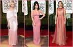 2016 altin kure odul toreni en sik elbiseler 2016 golden globe awards dress pembe elbiseler