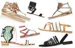 ayakkabi sandalet moda trend kadin 2015