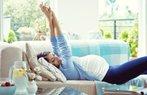 hamile mutlu bahar