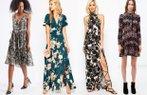 sezonun en guzel desenli elbiseleri moda trend 2015 sonbahar
