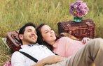 sevgili cift mutlu ask romantizm piknik