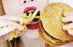 hamburger patates kalori fast food yag beslenme