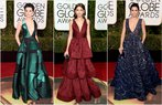 2016 altin kure odul toreni kirmizi hali elbise modelleri dekolte