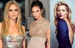 Cara Delevingne Victoria Beckham Kate Moss
