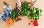 salata sebze havuc ispanak yemek saglik beslenme