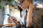 telefon boyun agrisi teknoloji mobil anne techneck