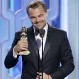 leonardo dicaprio 73 golden globe awards 2016 altin kure odul toreni