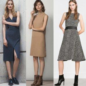 ofis elbise is yeri calisma kiyafet moda sonbahar kis 2015 2016 galeri
