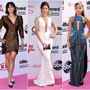 2016 billboard muzik odulleri kirmizi hali elbiseleri