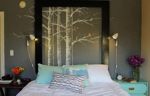 dekorasyon yatak basi