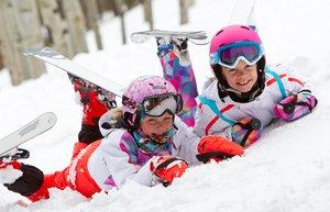 kayak cocuk kis kar