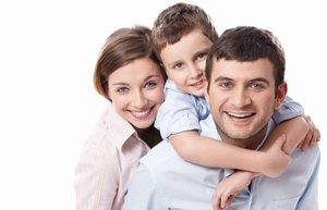 mutlu aile anne baba cocuk