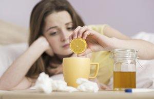 grip nezle soguk alginligi hastalik bal limon