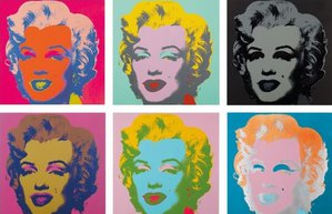 andy warhol marylin monroe