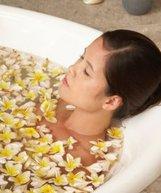 bitki banyo kadin ozl