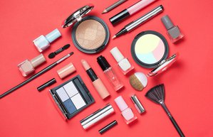 beauty cosmetics makeup brushes set