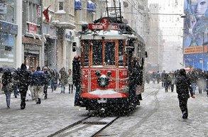 beyoglu istanbul kar