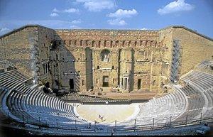 orange sehri roma tiyatrosu provence gezi