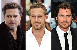 brad pitt ryan gosling christian bale film unlu hollywood