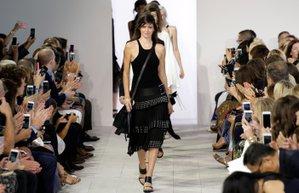 m new york moda haftasi michael kors 2016 ilkbahar yaz kolekisyonu defilesi