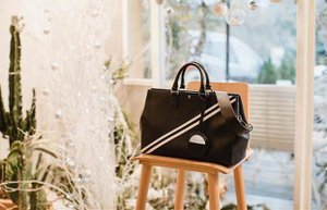 bloom bag blooms bury signature koleksiyonu siyahrenktotebagfiyati2 600tl