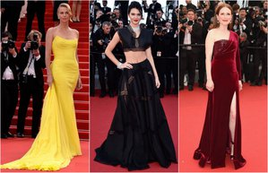 cannes 2015 film festivali kirmizi hali en siklari trend moda stil