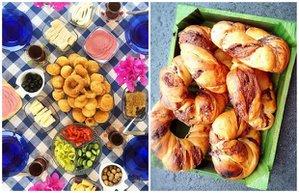 instagram yemek masa kahvalti fotograf
