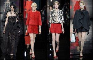 giorgio armani prive moda 2014 2015 sonbahar kis koleksiyon