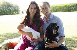kate middleton prens william bebek george alexander aile