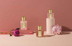 acqua di parma isiltili vucut yaglari peonia rose magnolia nobile
