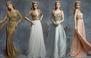 reem acra pre fall 2015 koleksiyon abiye gece elbisesi moda