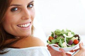 beslenme kadin salata