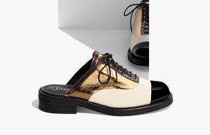 chanel in yeni tasarimi derby ayakkabilarla tanisin