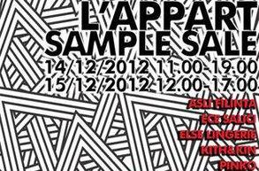 lappart sample sale 2012